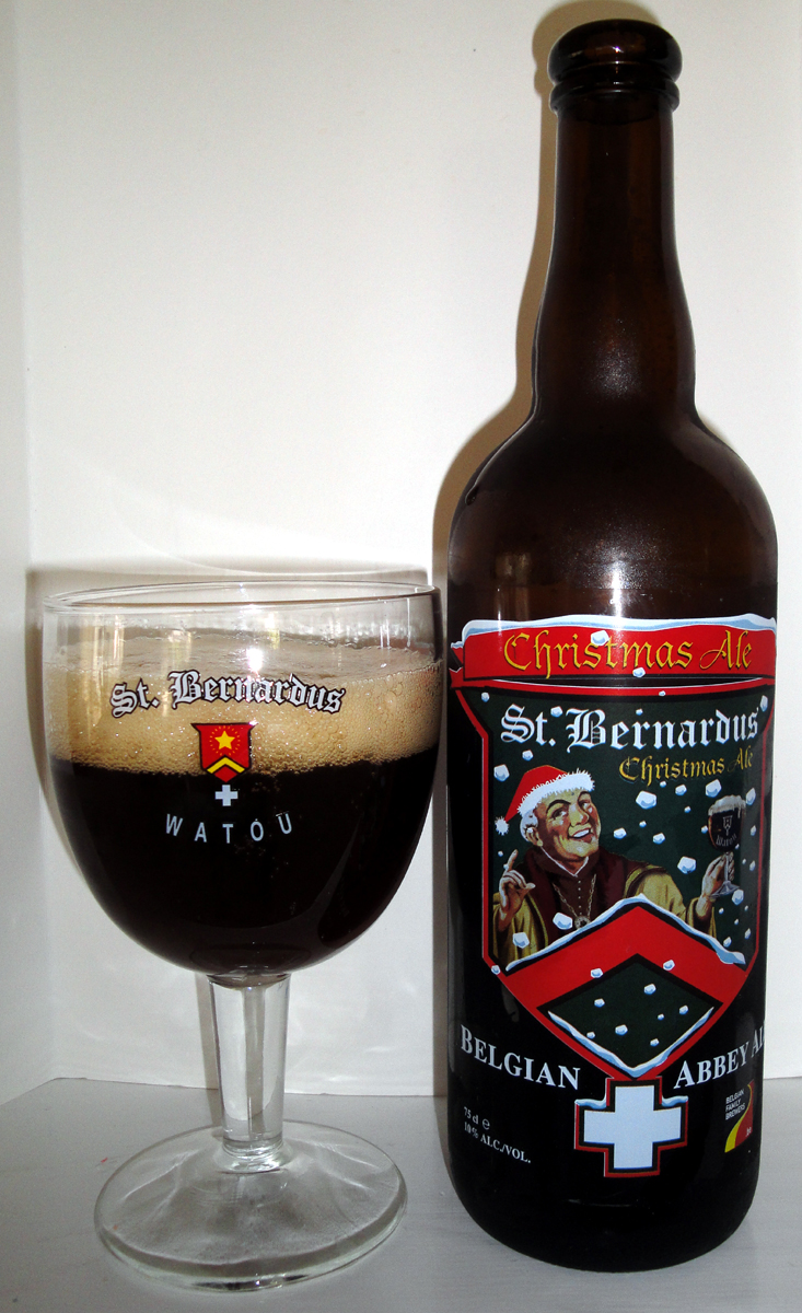 Beer # 56 : St. Bernardus Christmas Ale | The Beer Stocked ...