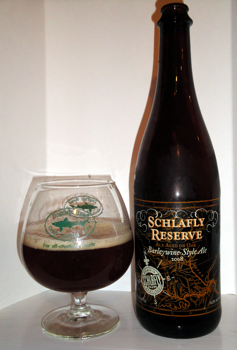 Beer 150 Schlafly Reserve Barleywine Style Ale 2008