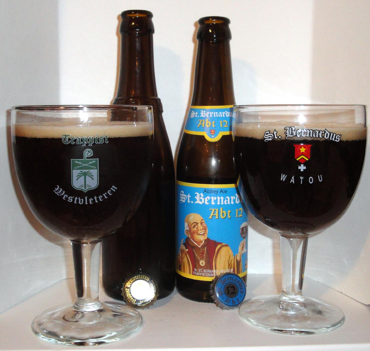 Westvleteren 12 Vs St Bernardus Abt 12 The Beer Stocked